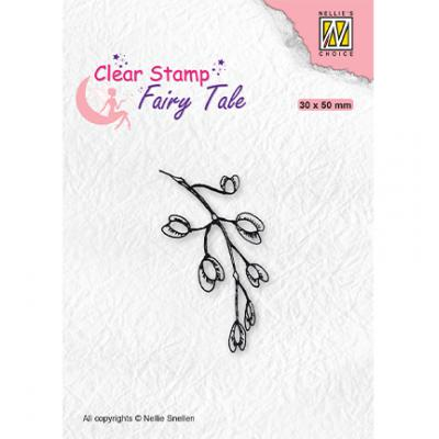Nellie's Choice Clear Stamp - Fairy Tale Blooming Branch