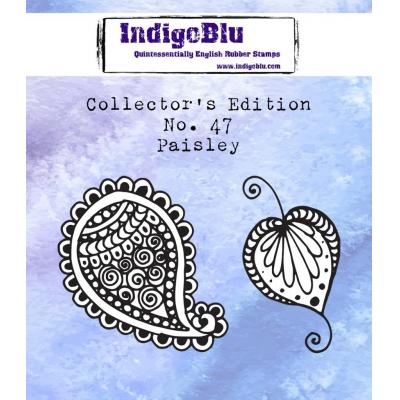 IndigoBlu Rubber Stamps - Paisley