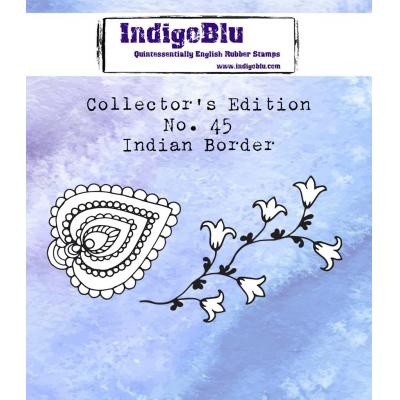IndigoBlu Rubber Stamps - Indian Border