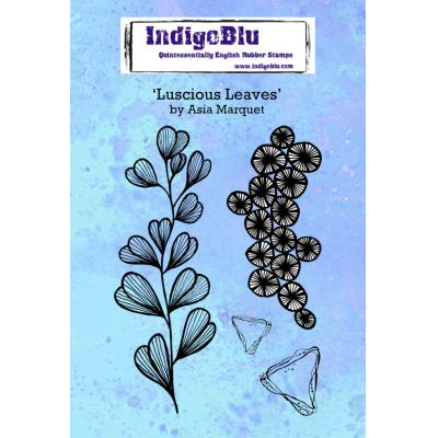 IndigoBlu Rubber Stamps - Luscious Leaves