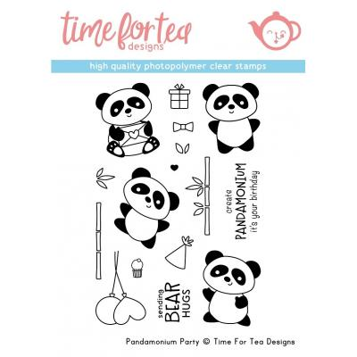 Time For Tea Clear Stamps - Pandamonium Party