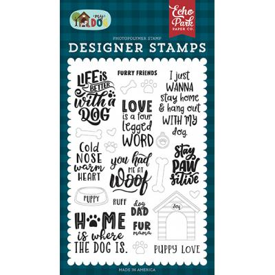 Echo Park My Dog Clear Stamps - Furry Friends
