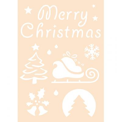 Joy!Crafts Stencil - Merry Christmas