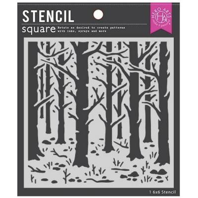 Hero Arts Stencil - Woodland Forest