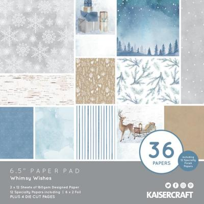Kaisercraft Whimsy Wishes - Paper Pad