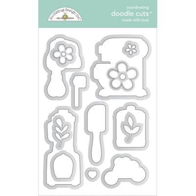 Doodlebug Made With Love Doodle Cuts - Made With Love