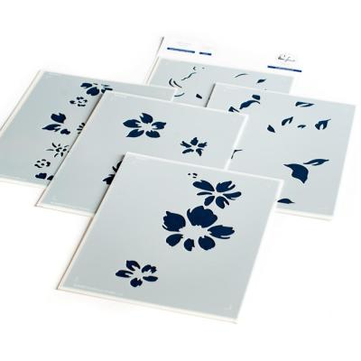Pinkfresh Studio Stencils -  Seamless Floral Panel