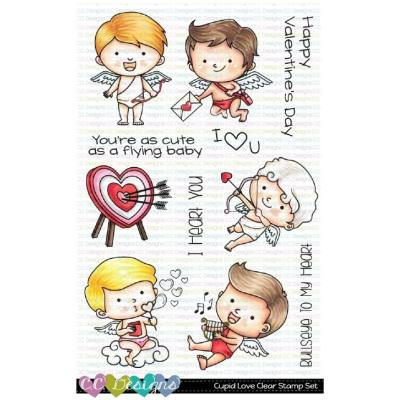 C.C. Designs Clear Stamps - Cupid Love