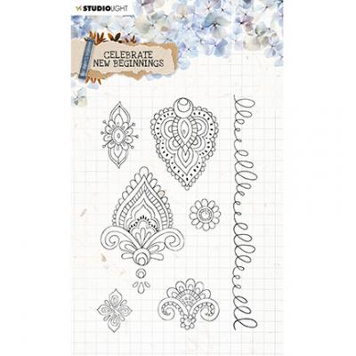 StudioLight Celebrate New Beginnings Clear Stamps - Ornamente Nr. 516