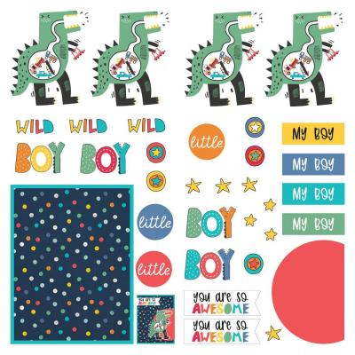 PhotoPlay Little Boys Have Big Adventures Die Cuts - Sheet