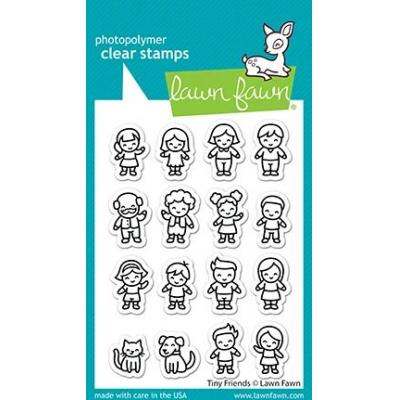 Lawn Fawn Clear Stamps - Tiny Friends