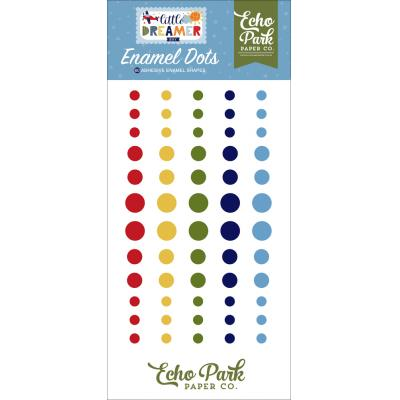 Echo Park Little Dreamer Boy - Enamel Dots