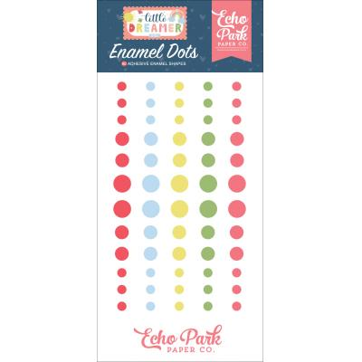 Echo Park Little Dreamer Girl - Enamel Dots