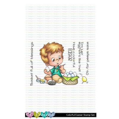 C.C. Designs Clear Stamps - Colorful Easter