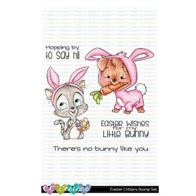 C.C. Designs Clear Stamps - Easter Critters