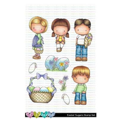 C.C. Designs Clear Stamps - Easter Sugar