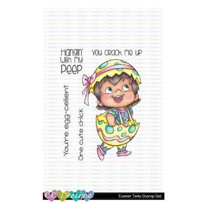C.C. Designs Clear Stamps - Easter Twila