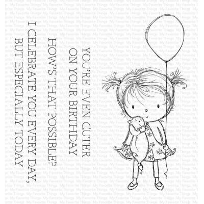 My Favorite Things Clear Stamps - Birthday Cutie