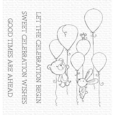 My Favorite Things Clear Stamps - Sweet Celebration