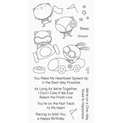 My Favorite Things Clear Stamps -Fast-Track Friends