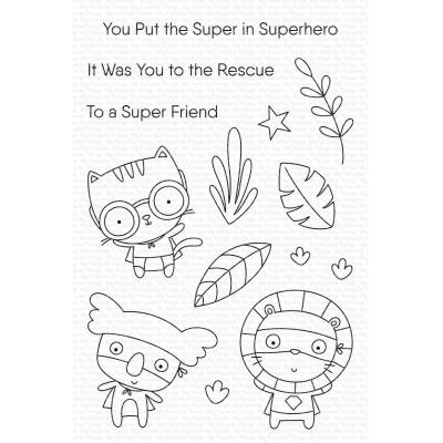 My Favorite Things Clear Stamps - Super Friend