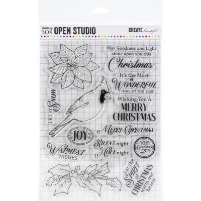 Memory Box Clear Stamps - Spirit Of Christmas