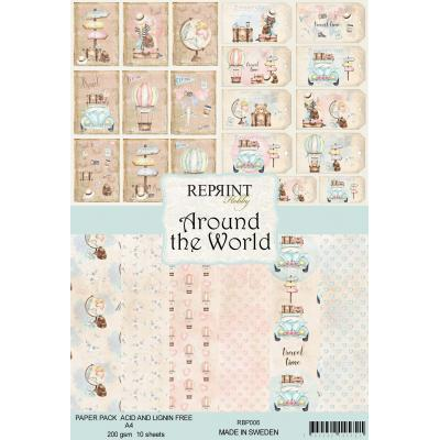 Reprint Around The World Collection Designpapier - Paper Pack