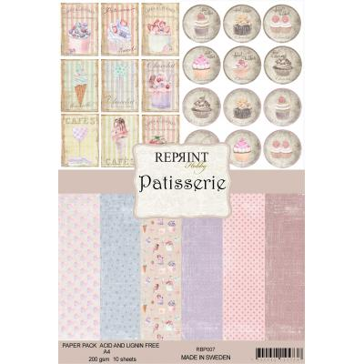 Reprint Patisserie Collection Designpapier - Paper Pack