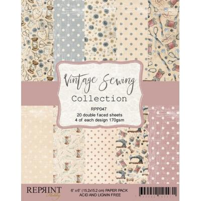 Reprint Vintage Sewing Collection Designpapier - Paper Pack