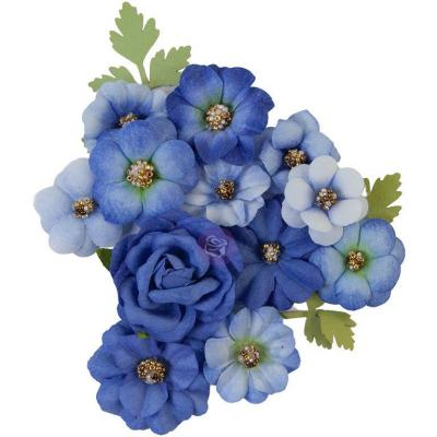 Prima Marketing Nature Lover Flowers - Blue River