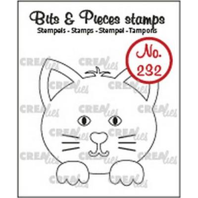 Crealies Clear Stamps - Katze