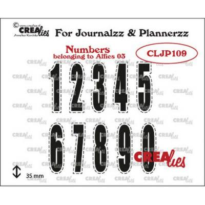 Crealies Clear Stamps - Zahlen