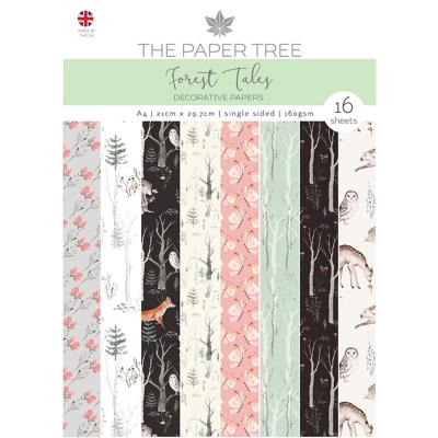 Creative Expressions Forest Tales Desihnpapier - Backing Papers