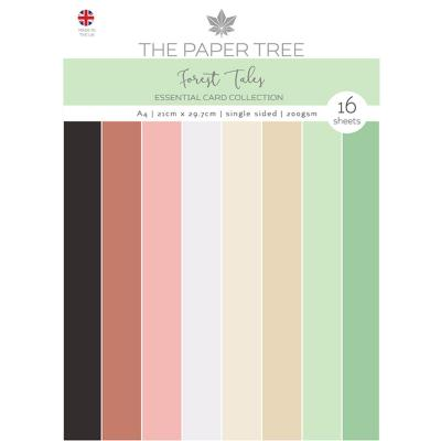 Creative Expressions Forest Tales Cardstock - Essential Colour Card