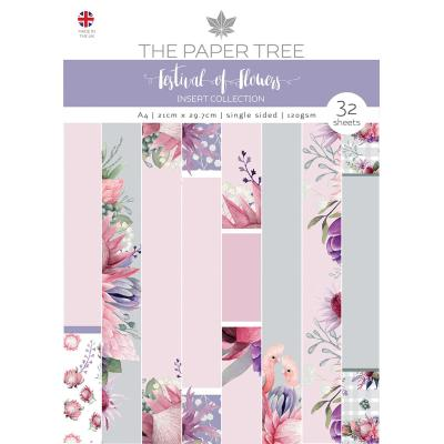 Creative Expressions A Festival Of Flowers Desihnpapier - Collection
