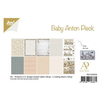 Joy!Crafts Anton Pieck Designpapier - Design Baby
