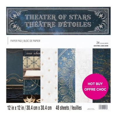 Craft Smith Theater Of Stars Designpapier - Paper Pad