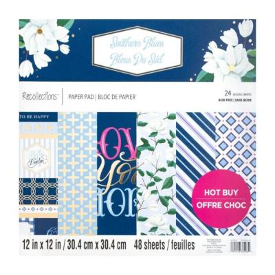 Craft Smith Southern Blues Designpapier - Paper Pad