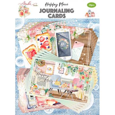 Asuka Studio Memory Place Happy Place - Journaling Cards