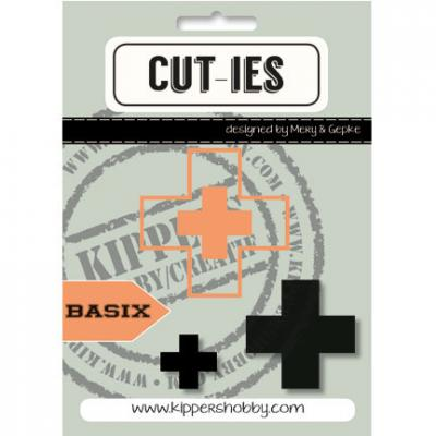 CUT-IES Stanzschablonen - Kreuz / Plus