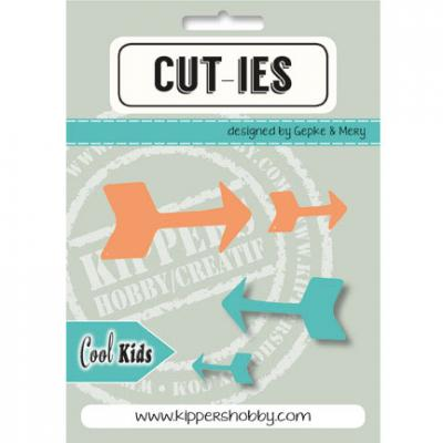 Kippershobby CUT-IES Stanzschablonen - Cool Kids Pfeile