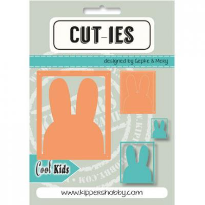 Stanzschablone CUT-IES Cool Kids Hase