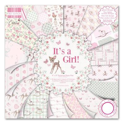 First Edition Paper Pad - It's a Girl