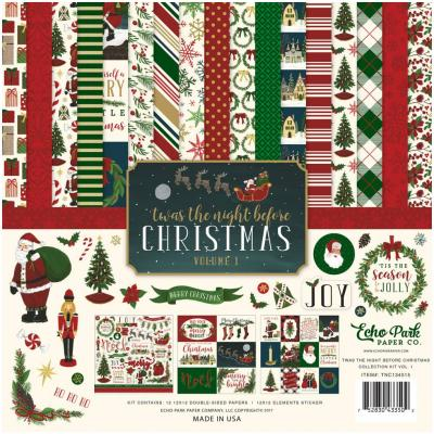 Twas The Night Before Christmas Vol.1 Collection Kit 12 x 12 Inch