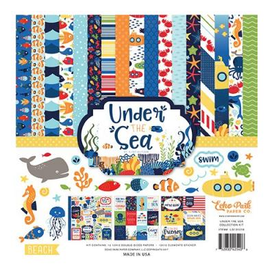 Echo Park Under The Sea Designpapier - Collection Kit