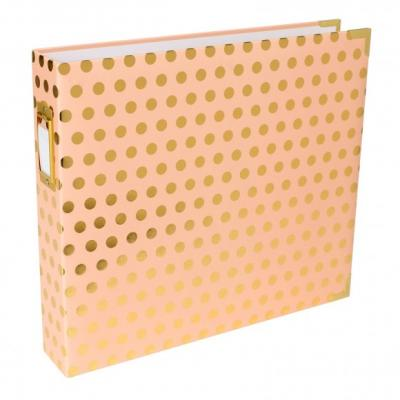 Project Life Album 30,5x30,5cm Blush Gold Dot