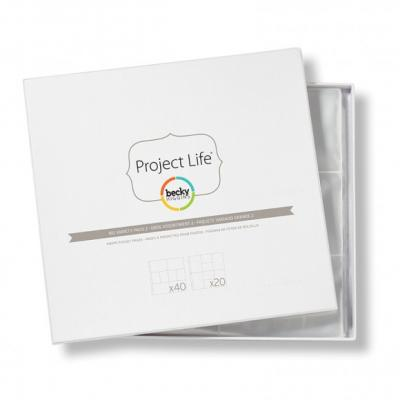 Project life photo pages x2pk