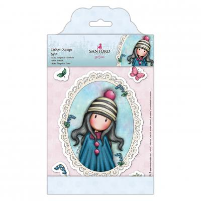 Gorjuss Rubber Stamps Spring & Sommer Collection - Pom Pom
