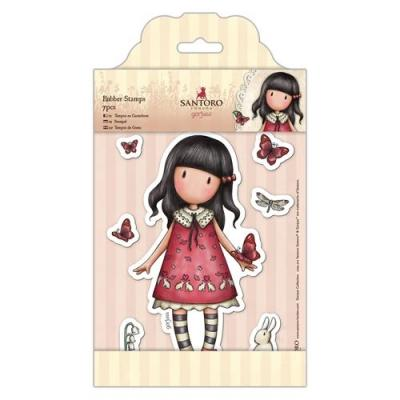 Gorjuss Rubber Stamps Spring & Sommer Collection - Gorjuss - Time To Fly