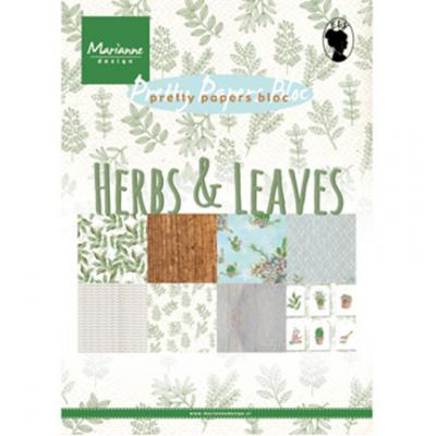 Pretty Papers Bloc: Herbs & Leaves